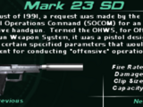 Weapons of Syphon Filter: Dark Mirror