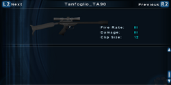SFTOS Tanfoglio TA90 Screen