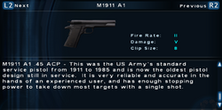 SFTOS M1911 A1 Screen