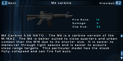 SFTOS M4 carbine Screen
