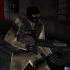 M-16 wielding terrorist