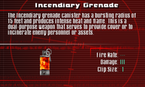 SFCO Incendiary Grenade Screen