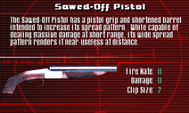 SFCO Sawed-Off Pistol Screen