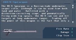 SFLS RD-9 Speargun Screen
