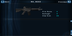 SFTOS M4 M203 Screen