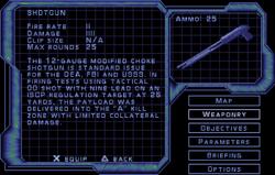SF2 Shotgun Screen