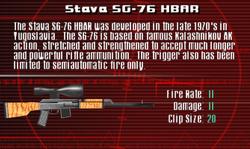 SFCO Stava SG-76 HBAR Screen