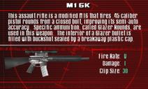 SFCO M16K Screen