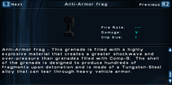 SFTOS Anti-Armor frag Screen
