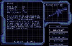 SF3 M-16 Screen