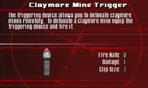 SFCO Claymore Mine Trigger Screen