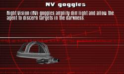 SFCO NV Goggles Screen