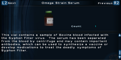 SFTOS Omega Strain Serum Screen