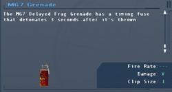 SFLS M67 Grenade Screen