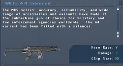 SFLS MDS A4 Silenced Screen