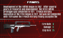 SFCO FAMAS Screen