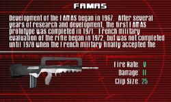 SFCO FAMAS Screen
