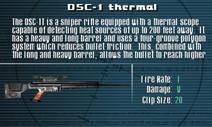 SFLS DSC-1 Thermal Screen