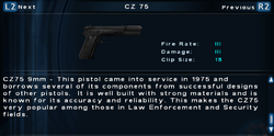 SFTOS CZ 75 Screen
