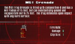 SFCO M61 Grenade Screen