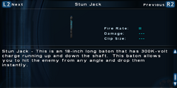 SFTOS Stun Jack Screen