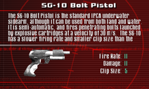 SFCO SG-10 Bolt Pistol Screen