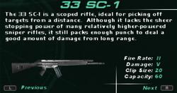 SFDM 33 SC-1 Screen