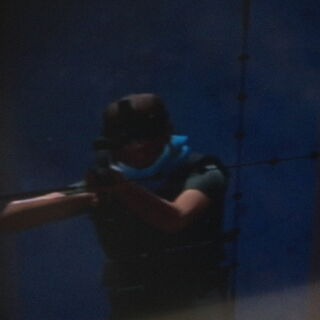 Fournier shooting at the agents of IPCA.