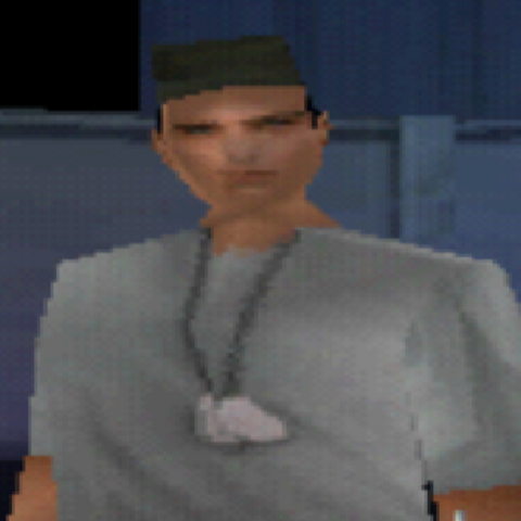 Ramirez in Syphon Filter 3 multiplayer.