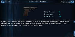 SFTOS Makarov Pistol Screen