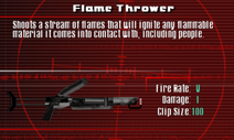 SFCO Flame Thrower Screen
