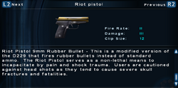 SFTOS Riot pistol Screen
