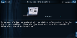 SFTOS Broussard's Laptop Screen