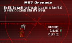 SFCO M67 Grenade Screen