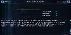 SFTOS SSG 550 Sniper Screen