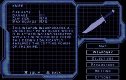 SF2 Knife Screen
