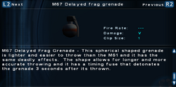 SFTOS M67 Delayed frag grenade Screen