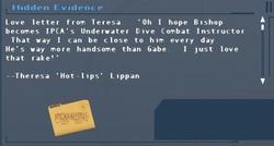 SFLS Hidden Evidence Screen
