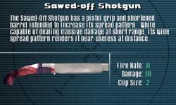 SFLS Sawed-Off Shotgun Screen