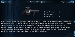 SFTOS Riot shotgun Screen