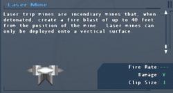 SFLS Laser Mine Screen