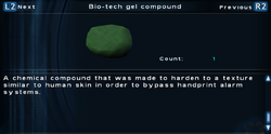 SFTOS Bio-tech gel compound Screen