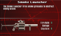 SFCO Smoke Launcher Screen