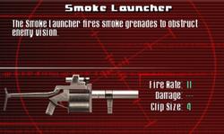 SFCO Smoke Launcher Screen