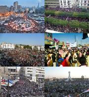 Arabic protests