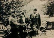 Greek DSE fighters Mortar training