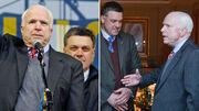 Senator McCain and Oleh Tyagnibok