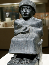 Sumerian-scribe