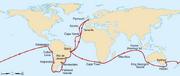 Voyage of the Beagle-en svg