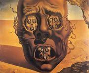 Dali, The Face of War, 1940 - artsnotdead.com .7